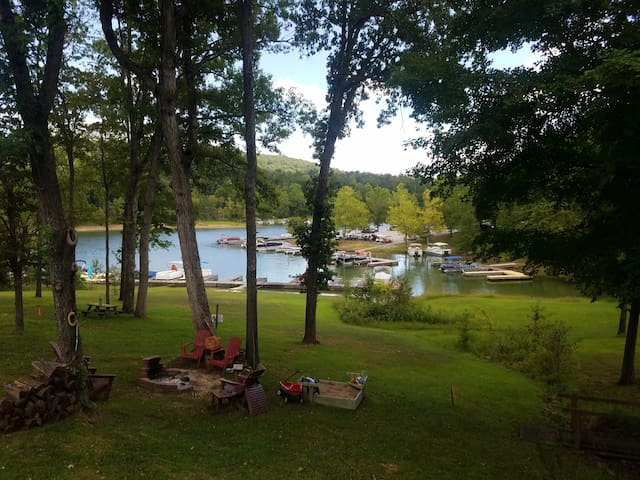 Rough River Lake House. No Sharks in these waters!
