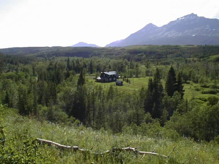 Historic Ranch Just Steps from Glacier Nat. Park