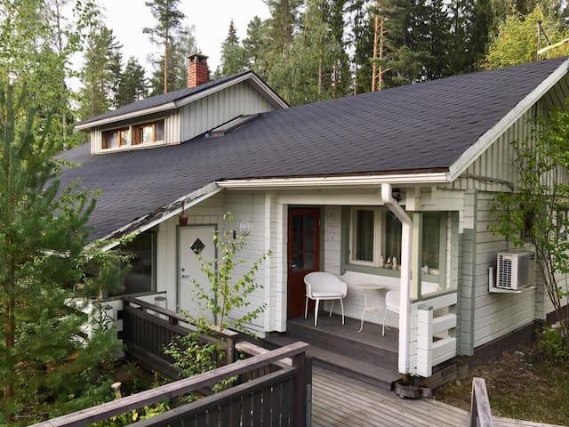 Fully renovated comfortable house at lake bank