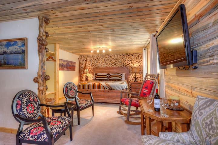 Teton View B&B ~ Jackson Hole ~ Willow Suite!