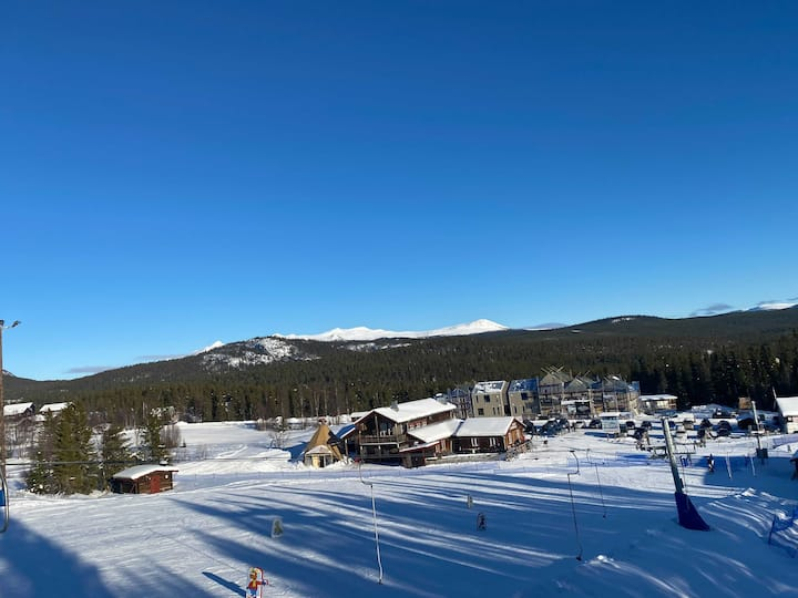 6 bäddar - Nybyggd lägenhet ski in-ski out