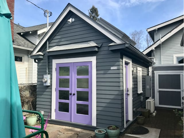 Your very own Portland Tiny House. Cute as a button. Two blocks from food carts. City inspected.