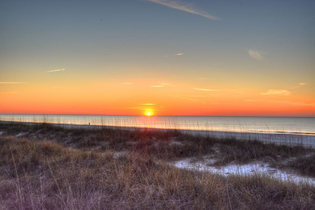 Sunrise Over Burkes Beach