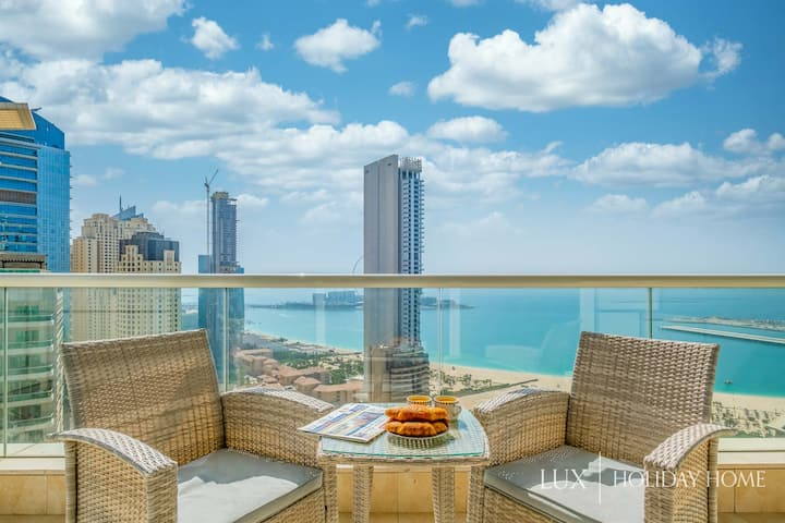 LUX | The Dubai Marina Sea View Suite