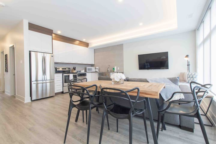 Spacious Downtown 3 Bed- Brand New, Free Parking