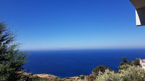 Cosy Studio Breathtaking sea view