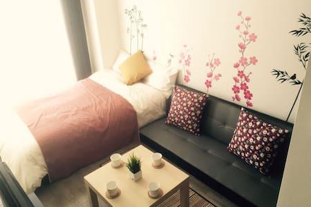 1 Floor 3 Studio Together, Easy Access20minToNamba - Ikuno Ward, Osaka - Apartment