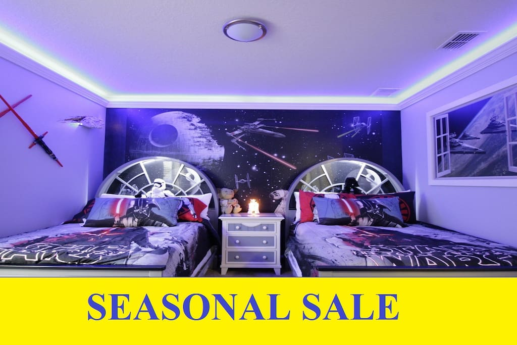Stunning Star Wars Theme room