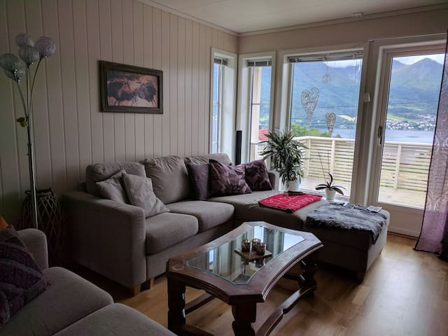 High standard home & a cat in stunning Sunnmøre
