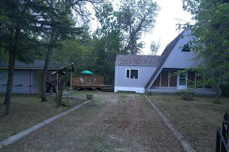 fully winterized 3 bedroom A-frame home