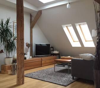 Zimmer in Maisonette-Wohnung Stuttgart-West - Stuttgart