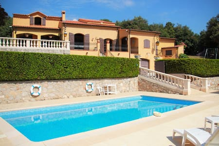 Provençal type Villa - Pool&Barbecue - 4 bedrooms - Peille - Villa