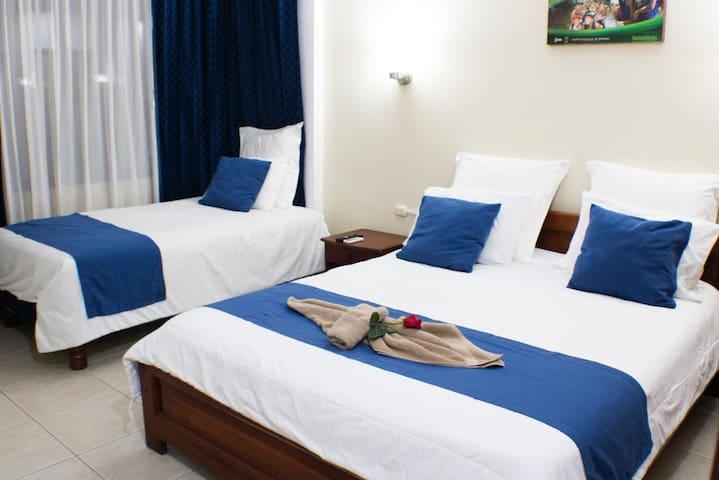 Habitación doble + Desayuno (Hotel Rio Napo)