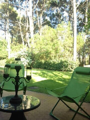 Rez de jardin dans résidence de charme 5 personnes