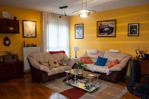 bonito piso en Lugones whifi