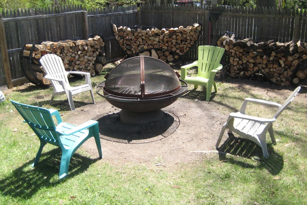 Magnificent & Enchanting 4 Foot Diameter Fire Pit Wood Supplied