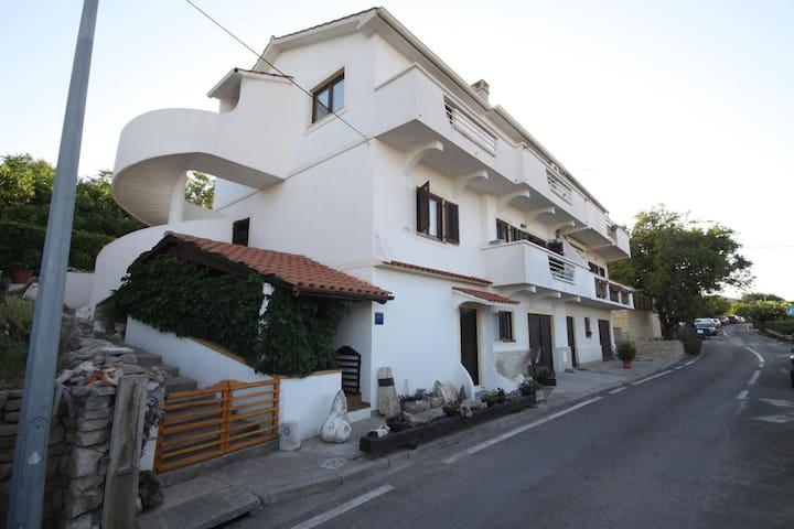 Appartamento di una stanza con terrazzo Sale - Sali (Isola Lunga - Dugi otok) (A-885-a)