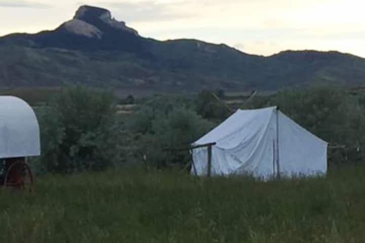 Large Cowboy Wall Tent #2