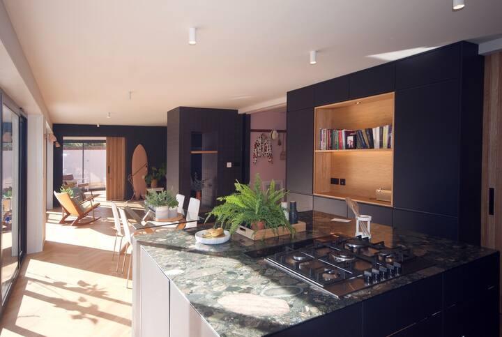 Beautifully designed Mid-Century modern house