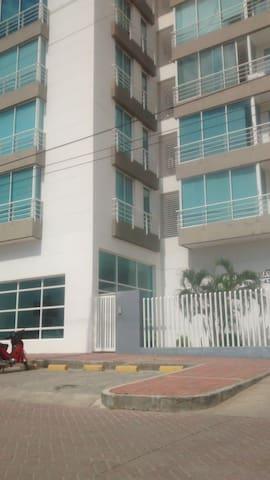 Tranquilo espacio  en Santamarta como en tu hogar - Santa Marta (distrito turístico, cultural e histórico) - Apartamento