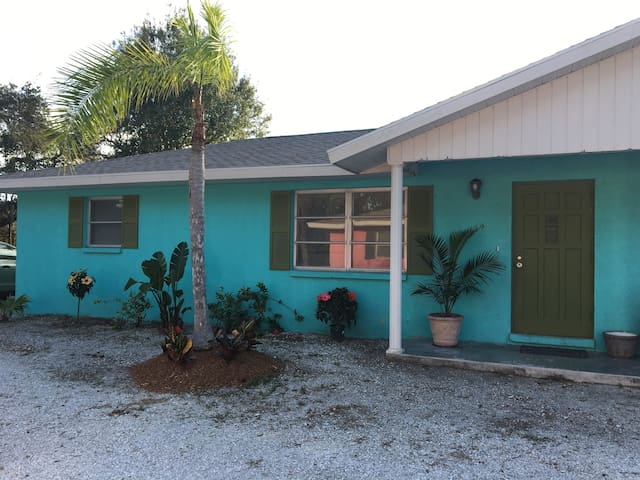 The Bamboo Bungalow near Casey Key Nokomis Beach