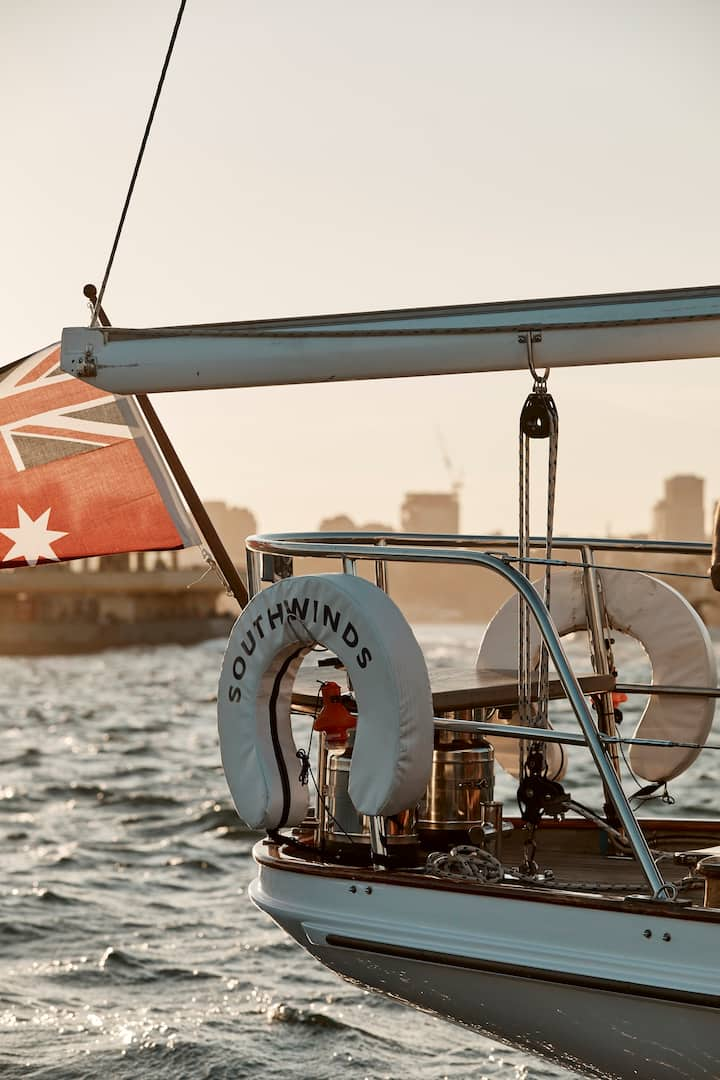 Your own 61ft Classic Sailing Yacht, Manly Sydney