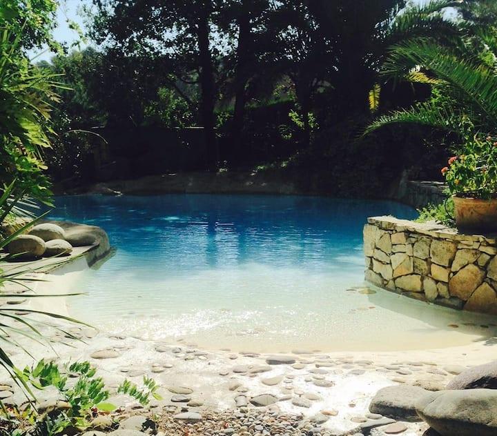 Mas charme piscine spa Grasse 8 p.