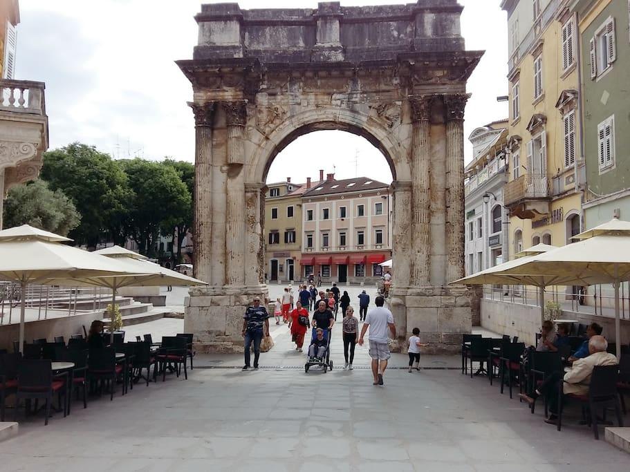 L'arco dei Sergi