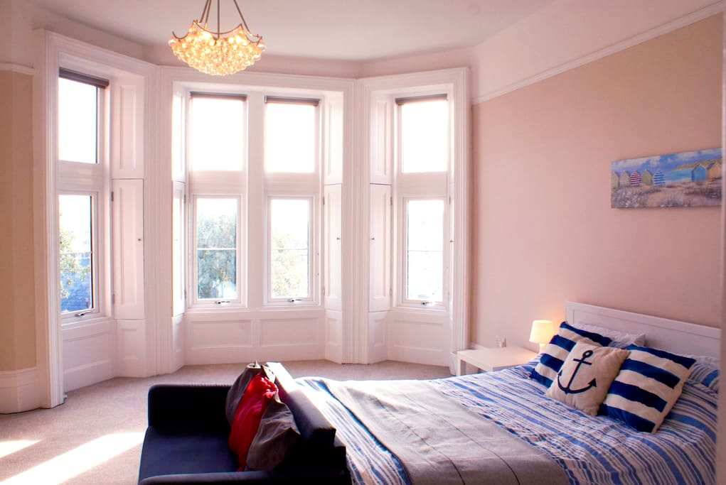 Huge Bay Window with Views over Weston Super Mare and the Seafront