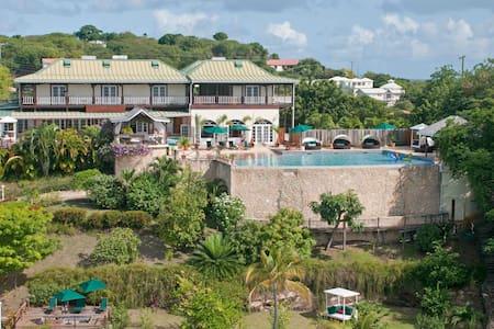 Nutmeg Room @GrenadaBnB Luxury Seaside Villa - Lance aux Epines - Wikt i opierunek