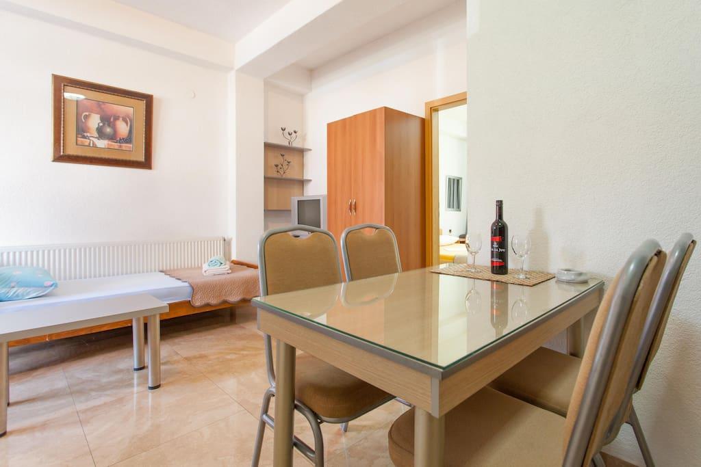 Apartman- ground floor - living room