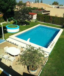 Invidual villa with private pool 25 k from sevilla - Aznalcázar - Almhütte