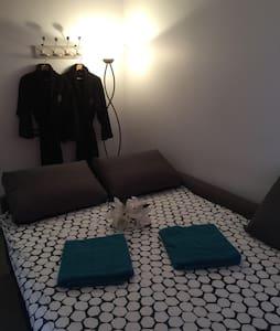Chambre privée dans spa proche aéroport et gare - Genève - Bed & Breakfast