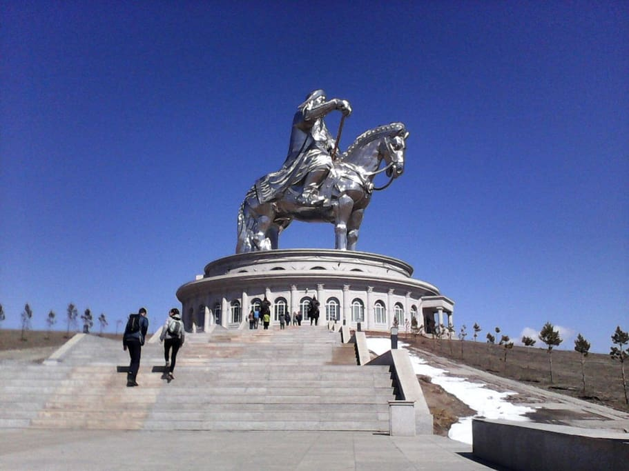 If you stay with us you possible to visit Chinggis Khan statue.