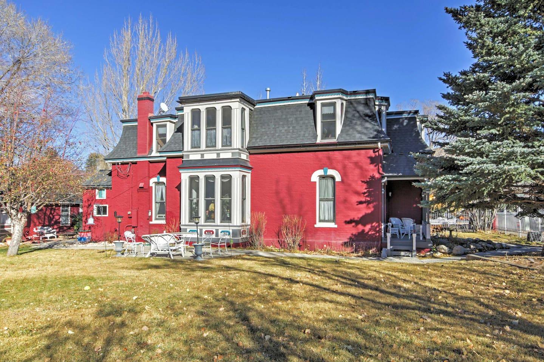 Enjoy a historic mountain experience at 'The Teardrop House' in Buena Vista!