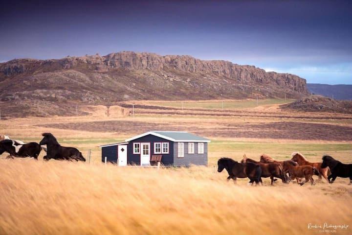 """Stóri-Bakki cottage near Egilsstaðir """"Álfabakki"""""""