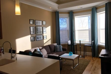 2F Rm1  Gray stone UIC Little Italy - Chicago - Apartment