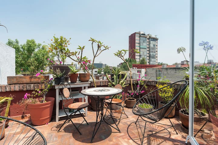 Beautiful PH Suite in Condesa