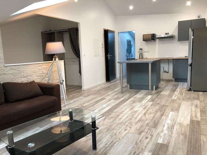 Appartement meublé 45m2