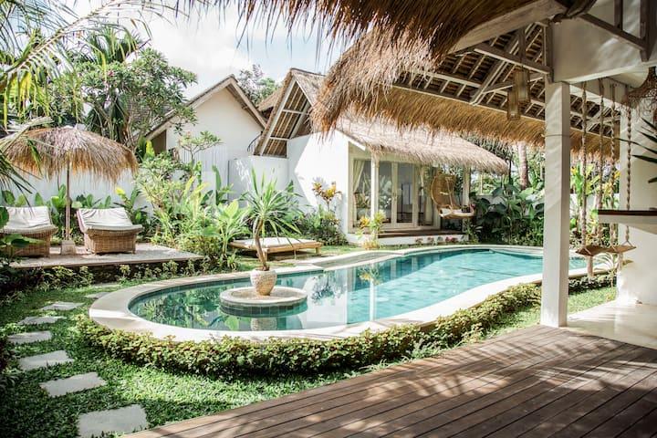 Ubud Tropical Paradise - Villa Bambu Blue