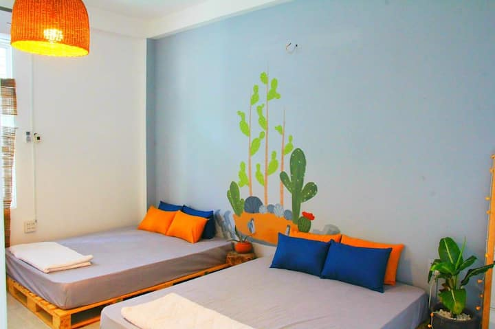 Private 2 - Double Room - Joy House 1