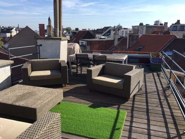 Apartment at Zuid with terrace and city view
