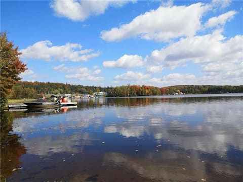 ❤ Secluded Lakefront Cottage on Cecebe Lake ❤