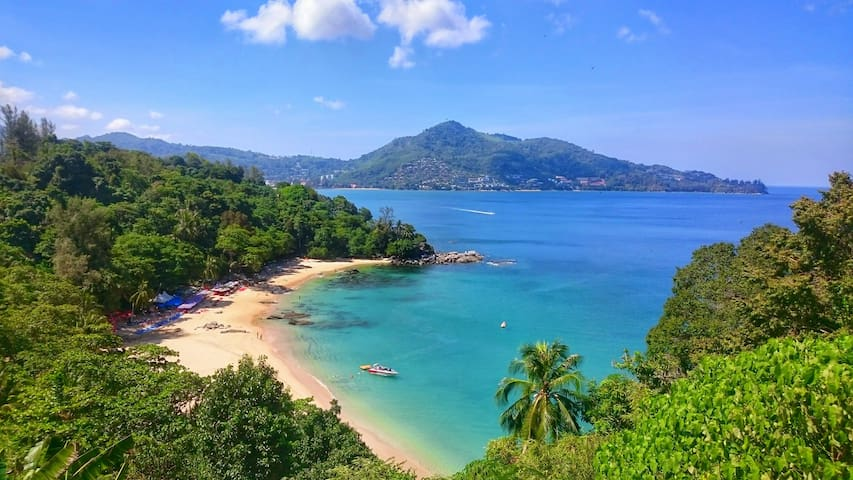at Laem Singh viewpoint / Beach - Daytrip around Phuket