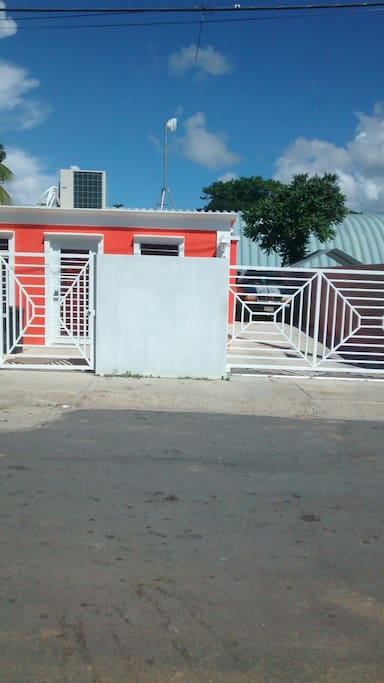 Gated with concrete fence and easy access to the local club/bar out the back