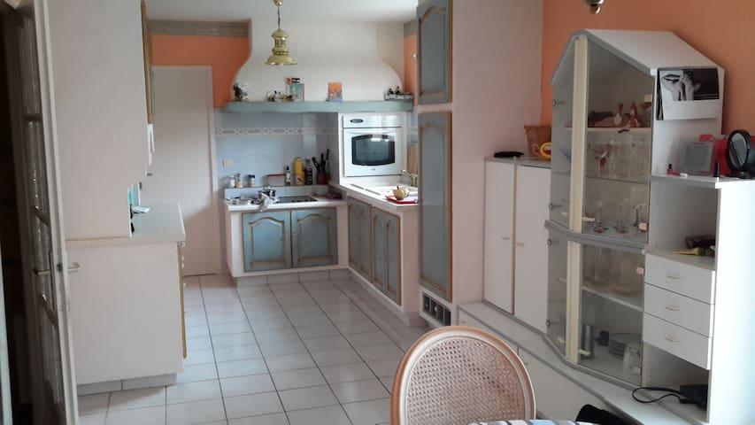 maison clair et ensoleillée - Saint-Estève - House
