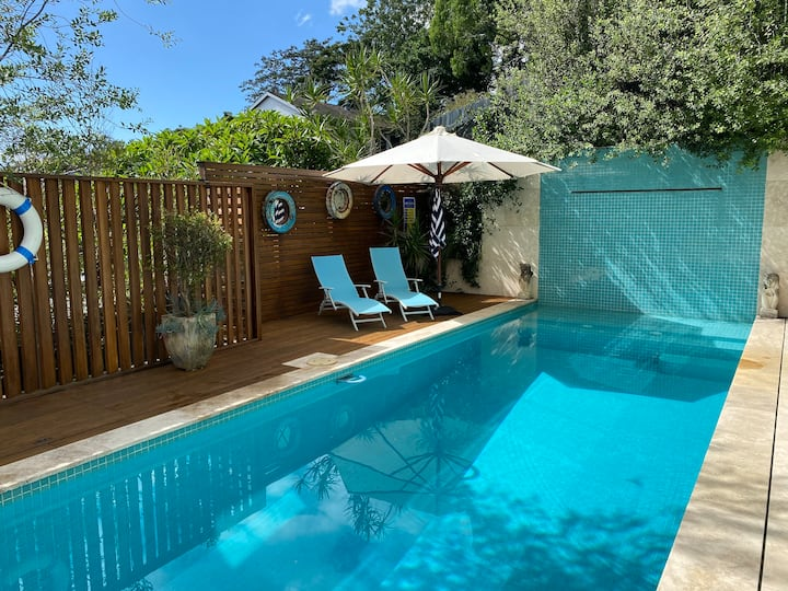 Private Oasis with pool exclusive for guests only