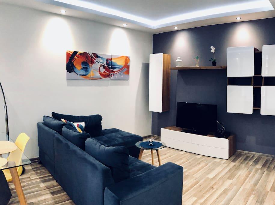 Salon + sofa