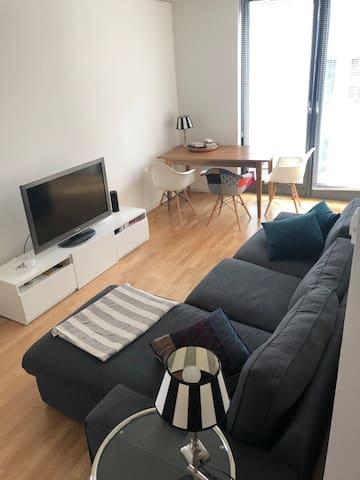 Moderne City-Wohnung für Zwei