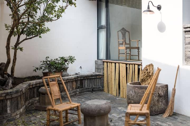 超值预售 芗吟民宿-《聆雨》感受成都民国人文空间私家庭院,小酒馆旁锦里武侯祠